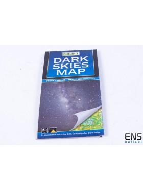 Philips Dark Skies Map - Britain & Ireland