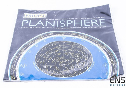 Philips Planisphere for 51.5° North (Northern Hemisphere)