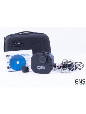 QSI 6120WSG Cooled Mono CCD 8 position Wheel