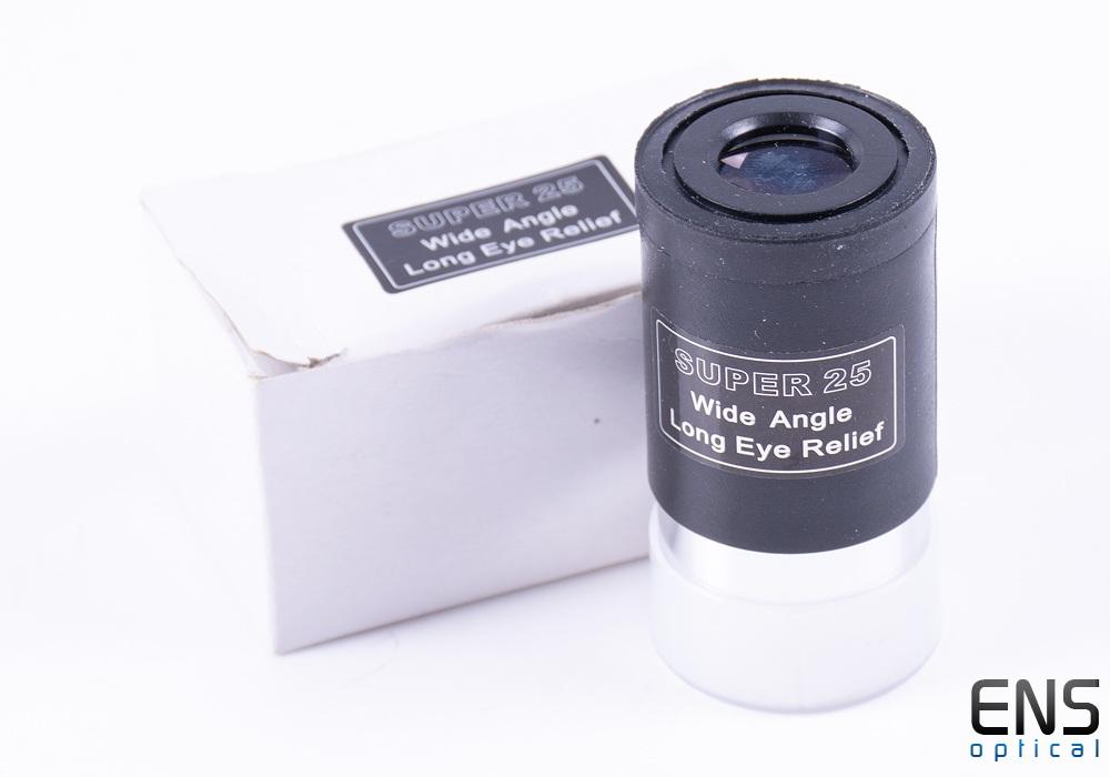 """Skywatcher 25mm Super 25 Wide Angle LER Eyepiece - 1.25"""""""