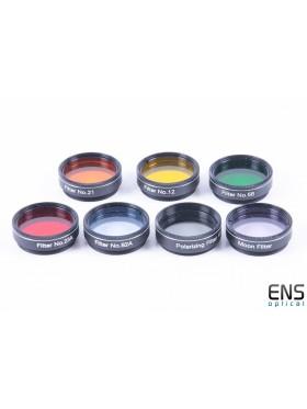 Sky-Watcher Color Filter set - 7 Pieces