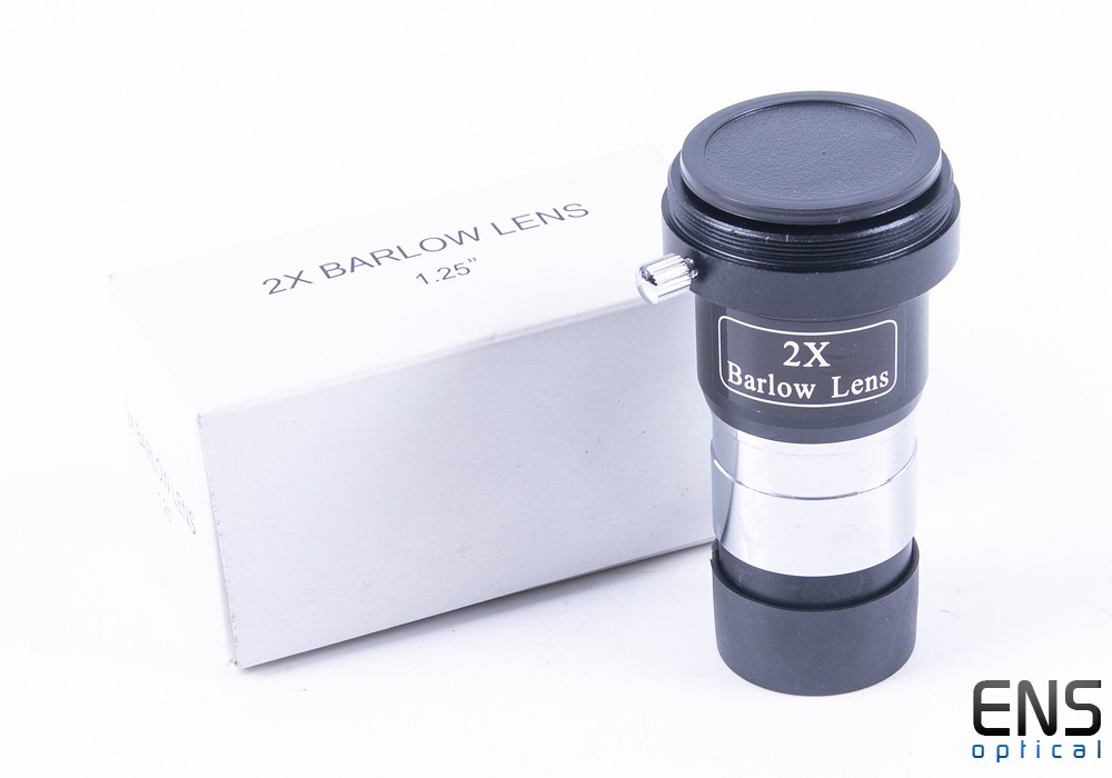 "Skywatcher 2x Barlow Lens 1.25"" with T2 Thread Boxed"