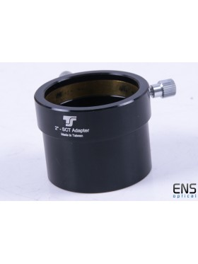 """TS-Optics SCT to 2"""" Eyepiece Compression Adapter"""