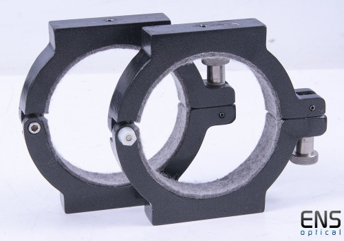 Parallax 95mm Telescope Tube Mounting Rings - Takahashi FSQ-85