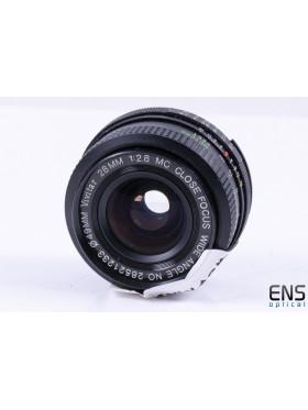 Vivitar 28mm f/2.8 AI-s Fit Prime Close Focus Wide Angle Lens *SPARES*