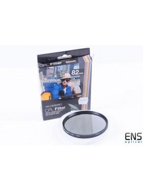Vivitar 82mm CPL Circular Polariser Lens Filter - AR