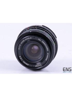 Vivitar 28mm f/2.8 AI-s Fit Prime Close Focus Wide Angle Lens *FUNGUS*