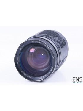Vivitar 28-200mm f/3.5-5.6 Auto Telephoto Zoom Lens - 77708335 JAPAN *READ*