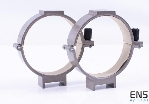 Small Vixen Tube Rings for 90mm O.D Telescope