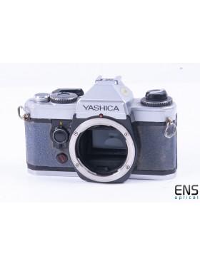 Yashica FX-D Quartz 35mm Film SLR Camera *READ*