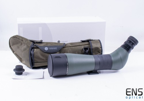 Hawke Frontier ED 20-60x85 Spotting Scope Green -  Box with Case