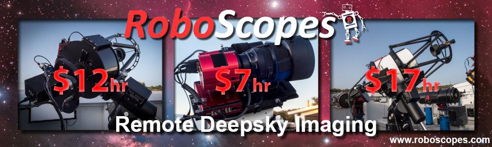 Roboscopes - Remote Deep Sky Imaging