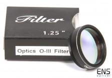 "Skywatcher 1.25"" OIII Nebula & Light Pollution Visual Filter"