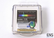 """Baader 1.25"""" OII Oxygen III 8.5nm Narrowband CCD Imaging Filter - New Sealed"""
