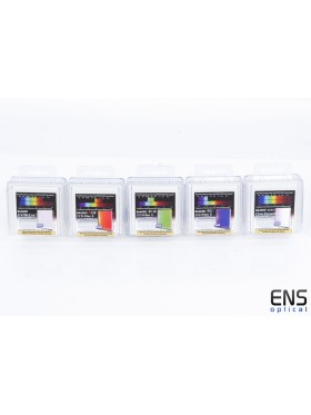 Baader 50mm CLRGB Square Unmounted Colour CCD Imaging Filter Set - New Sealed