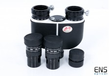 William Optics Binoviewer Package with Eyepieces & 1.6x Barlow Lens
