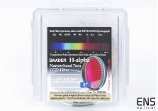 "Baader 2"" HA Hydrogen Alpha 7nm Narrowband CCD Imaging Filter - New Sealed"