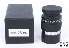 """26mm SWA Super Wide Angle 2"""" Eyepiece with 70-degree field of view"""
