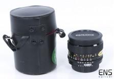 Kenlock 28mm F2.8 fast Wide Angle Manual Lens - Nikon AI