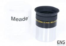 """Meade 9.7mm 1.25"""" 4000 Series Super Plossl Eyepiece Bolt Case"""