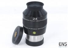 Explore Scientific 24mm 82º Ultra Wide Angle Eyepeiece - Mint