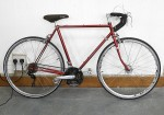 "Claud Butler 22"" 1960's Classic Touring bike Powder coated Frame - Eroica Ready"