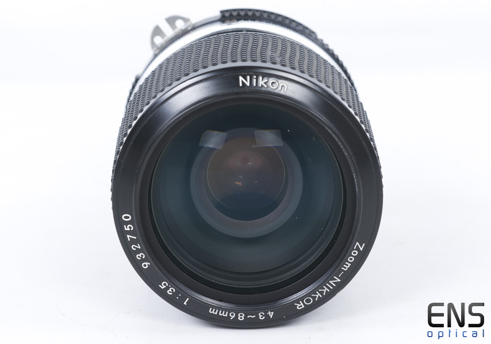 Nikon 43-86mm f3.5 AI Manual Zoom Lens Japan 932750
