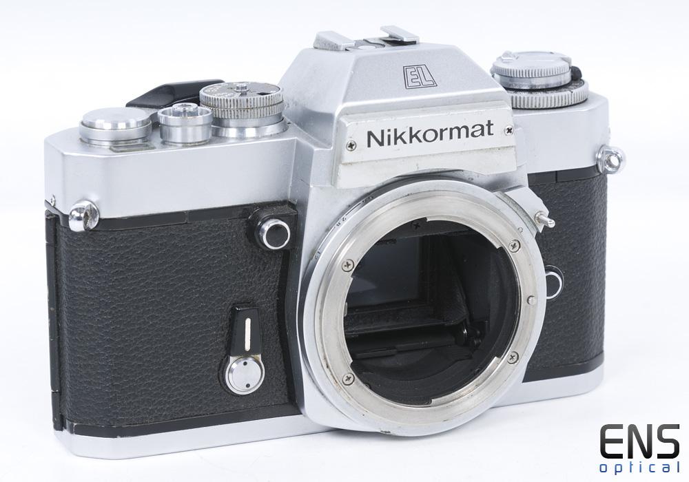 Nikon Nikkormat EL 35mm Silver Classic Film Camera - 5415267