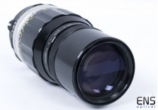 Nikon 200mm f/4 Pre-Ai Nikkor-Q Telephoto prime lens 462182 **READ**