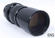 Nikon 300mm f/4.5 Ai Nikkor telephoto prime lens 542541