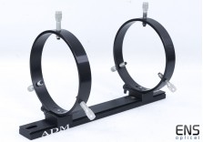 "ADM Guide Rings and Mini rail for Meade 8"" SCT Lx200 Lx90"