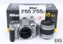 Nikon F55 Kit with 28-80mm zoom lens Ideal for Student! Boxed!