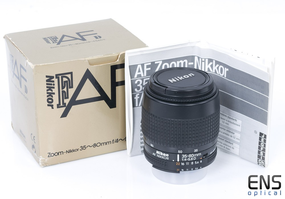 Nikon 35-80mm f/4-5.6 Nikkor zoom lens Boxed 4703394