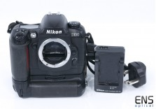 Nikon D100 6.1MP DSLR digital camera body with Genuine MB-D100 grip - 2114346