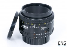 Nikon 50mm f/1.8 AF Nikkor standard prime lens