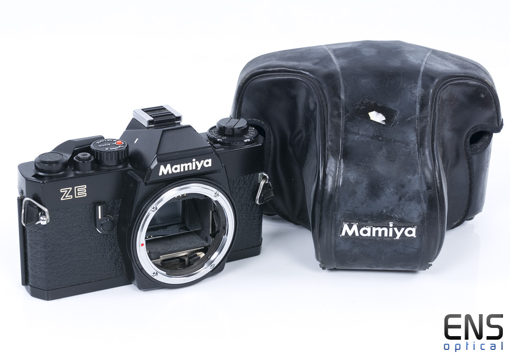 Mamiya ZE 35mm film SLR camera body Nice - N156577