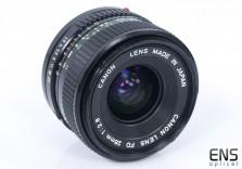 Canon 28mm f/2.8 FD wideangle prime lens manual focus 855809