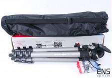 Manfrotto MK394-H Aluminium Tripod *New open box*