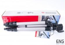 Manfrotto MK394-PQ Aluminium Tripod *New open box*