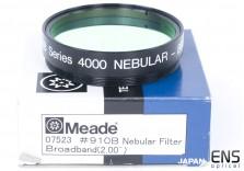 """Meade 2"""" 910B Broadband Nebula & Light Pollution Filter - Rare"""