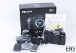 Fuji XT-1 16.7MP Digital Camera Black - Mint Boxed