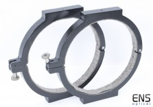 """Parallax 10"""" 254mm Telescope Tube Mounting Rings - new open box"""