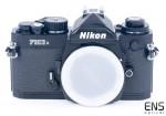 Nikon FM3a 35mm film SLR 35mm Black Camera body 308640 Mint/Mint-