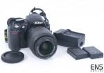 Nikon D3100 DSLR Camera Body 18-55mm VR Lens Bundle 7292 Shots