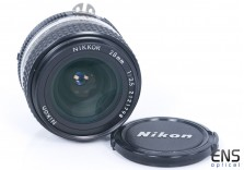 Nikon 28mm F3.5 AI-S Wide Angle prime Nikkor Manual Lens - 2121798