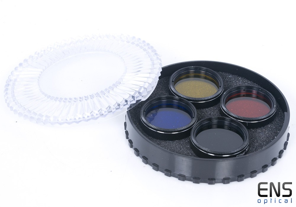 """1.25"""" Telescope Colour Filter Set with Moon Filter - bargain"""