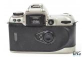 Nikon F80 SLR camera body Silver 35mm film lightweight body 2076373 **For PARTS*