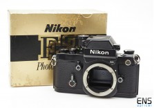 Nikon F2AS Photomic 35mm film SLR Black Camera body Boxed 7911097