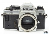Nikon FA 35mm film SLR Chrome Camera body 5070251 **FOR PARTS**