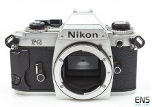 Nikon FG 35mm film SLR Chrome camera body - **FOR PARTS** 8202214